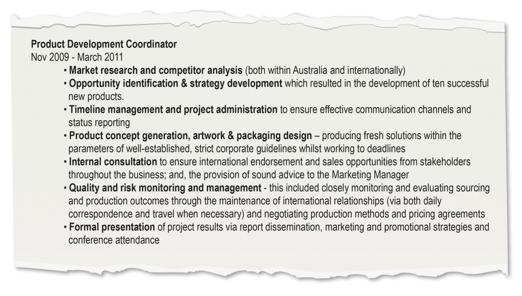 resumes   curtin careerssee how much more impressive the below resume looks  despite delivering essentially the same information