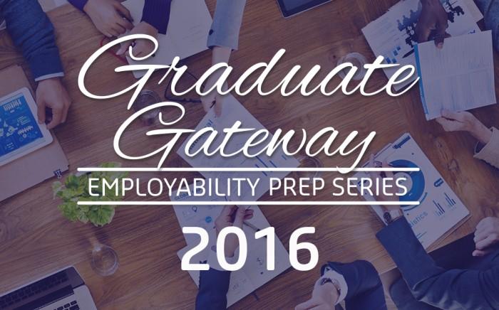 Graduate Gateway Employability Workshop Series