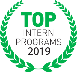 Top Intern Programs 2019 Logo