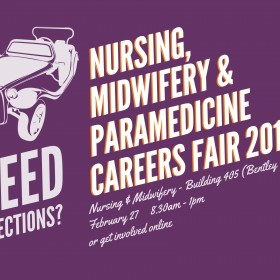 Nursing, Midwifery & Paramedicine Careers Fair 2014