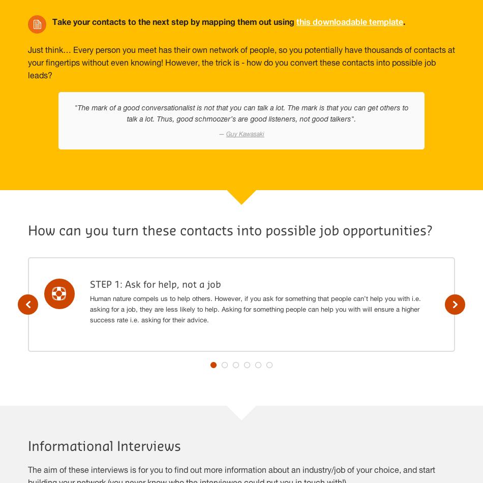 Stop Googling, Start Networking - Careers Illuminate Challenge