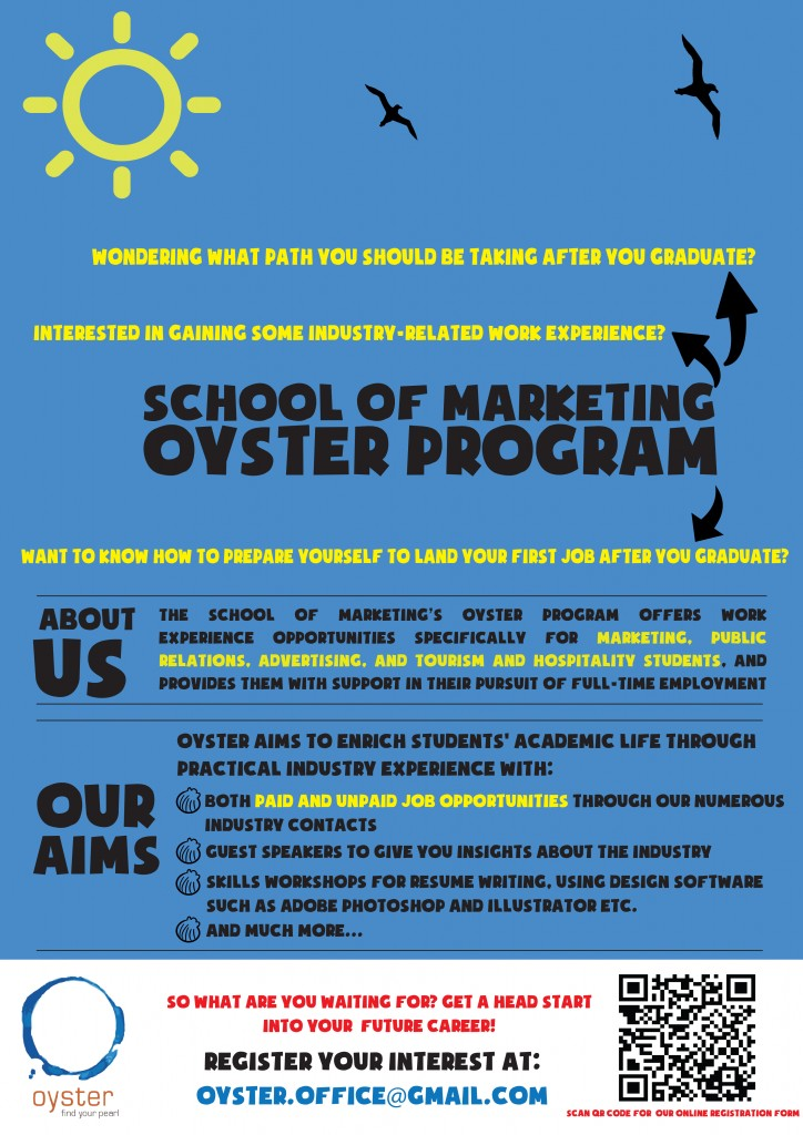 oyster promo poster